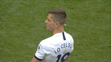 Lo Celso fires over after Kane goes close (83)