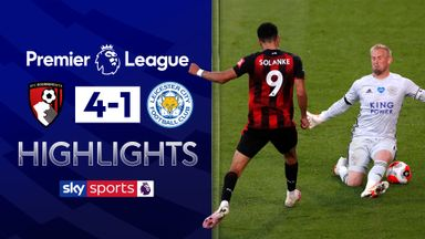 Solanke and Bournemouth stun Leicester