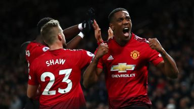 HT Manchester Utd 2-1 Southampton