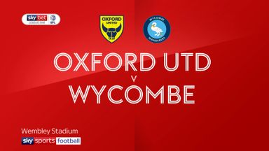L1 Play-off Final: Oxford 1-2 Wycombe