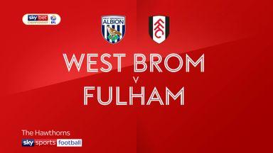 West Brom 0-0 Fulham
