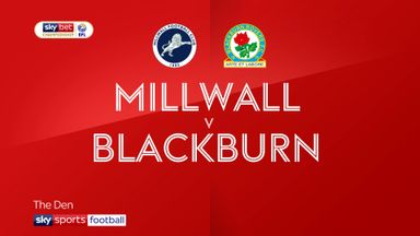 Millwall 1-0 Blackburn