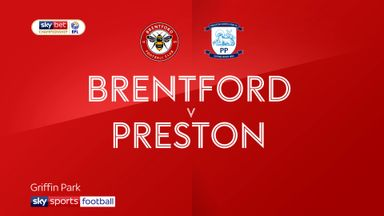 Brentford 1-0 Preston