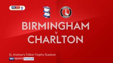 Birmingham 1-1 Charlton