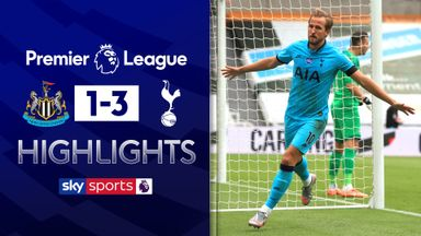 Kane scores twice as Spurs win at Newcastle