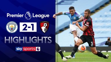 Man City see off spirited Bournemouth
