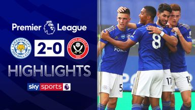 Leicester boost CL hopes with Blades win