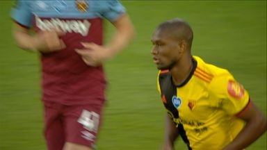 Kabasele goes close (48)