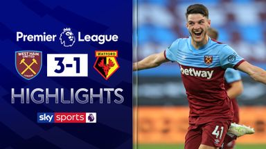 West Ham close to safety after Watford win