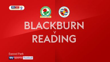 Blackburn 4-3 Reading