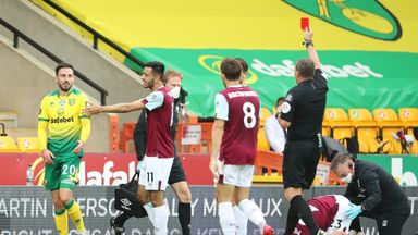 HT Norwich 0-1 Burnley