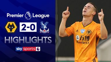 Wolves up to sixth after Palace win