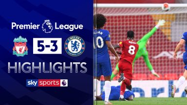 Liverpool beat Chelsea in eight-goal thriller