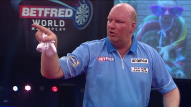 Van der Voort fury after underarm throw