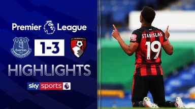 Bournemouth win but go down