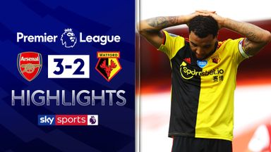 Watford relegated after five-goal thriller