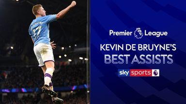 De Bruyne's best Premier League assists
