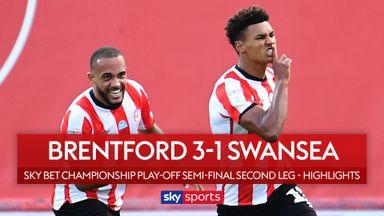 Brentford 3-1 Swansea
