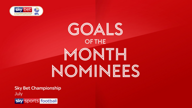 Championship Goal of the Month - July