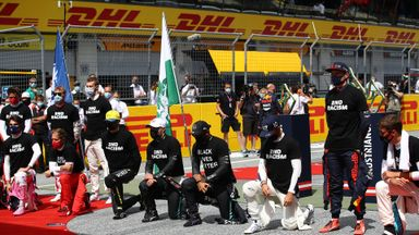 Should F1 be more united on anti-racism message?