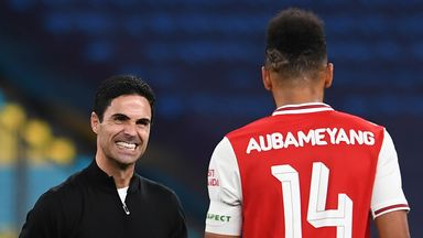 Arteta: Cup win could help Auba stay