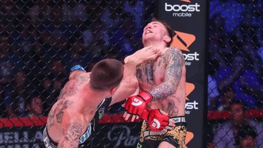 Best finishes from Bellator 242 fighters