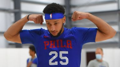 Sixers put through paces in bubble