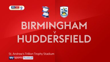 Birmingham 0-3 Huddersfield