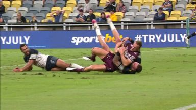 Cherry-Evans scores despite Feldt tackle