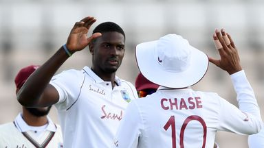 England vs Windies: Day four highlights