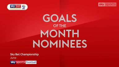 Championship Goal of the Month - June
