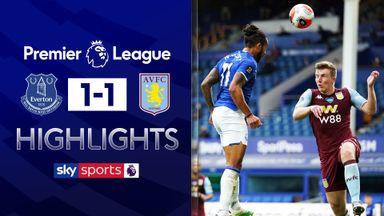 Late Walcott goal denies Villa vital win
