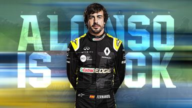 Alonso returns: Renault boss exclusive