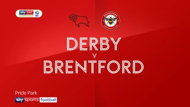Derby 1-3 Brentford