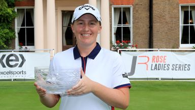 Dryburgh wins on Rose Ladies Series