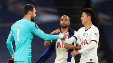 Moura: Lloris, Son clash shows we want to win