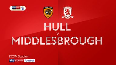 Hull 2-1 Middlesbrough