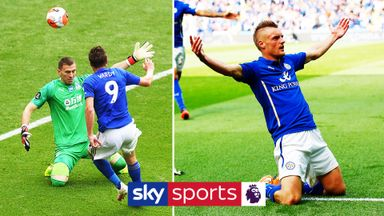 Jamie Vardy's best Premier League goals