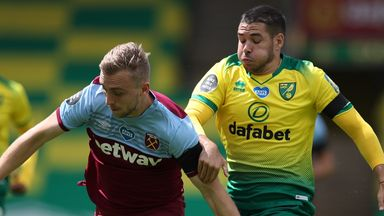 Buendia: I'm happy at Norwich