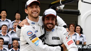 Button reacts to Alonso's F1 return