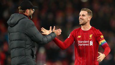 Klopp hails Henderson 'resilience'