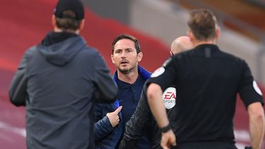 Lampard regrets his language vs Liverpool
