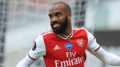Gillette Precision Play: Lacazette stunner