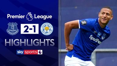 Everton edge past Leicester at Goodison
