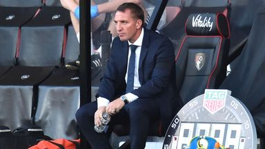 Rodgers 'shocked' by Bournemouth loss
