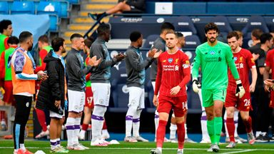 City give Liverpool guard of honour