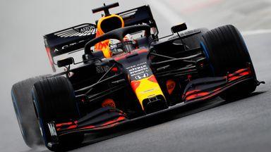 Incredible start from Verstappen