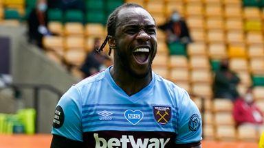 Moyes praises 'excellent' Antonio