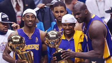 NBA Retro: Kobe and Shaq three-peat