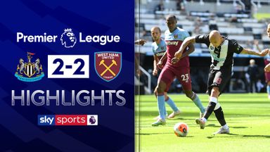 Hammers blow lead twice as Toon earn draw
